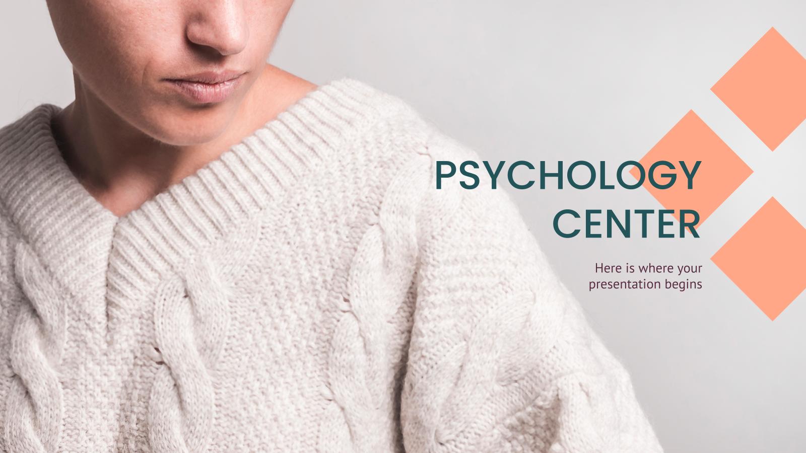 Psychology Center presentation template