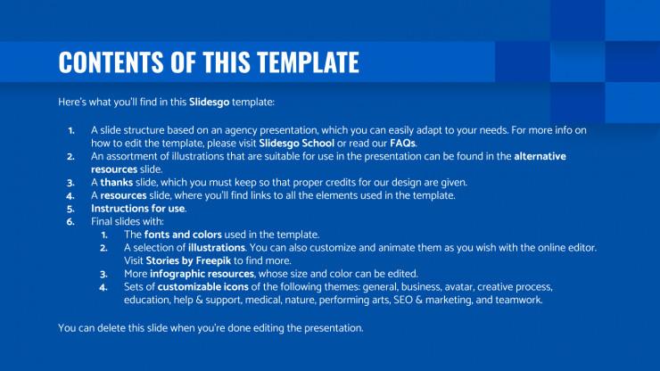 Enet Agency presentation template