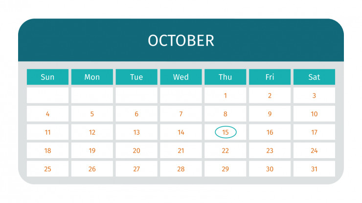 Monthly Planner presentation template