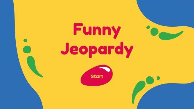 Plantilla de presentación Jeopardy divertido