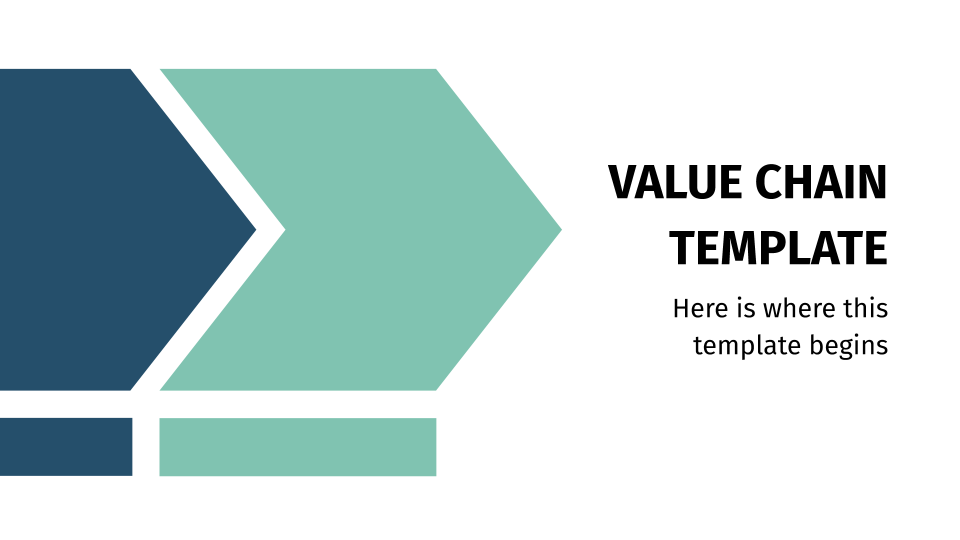 Value Chain presentation template