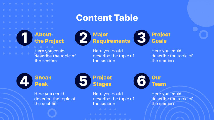 Plantilla de presentación Propuesta creativa Cliad