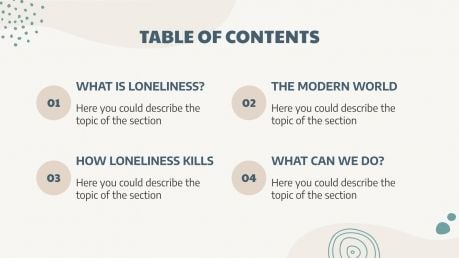 Emotional Loneliness First Aid presentation template