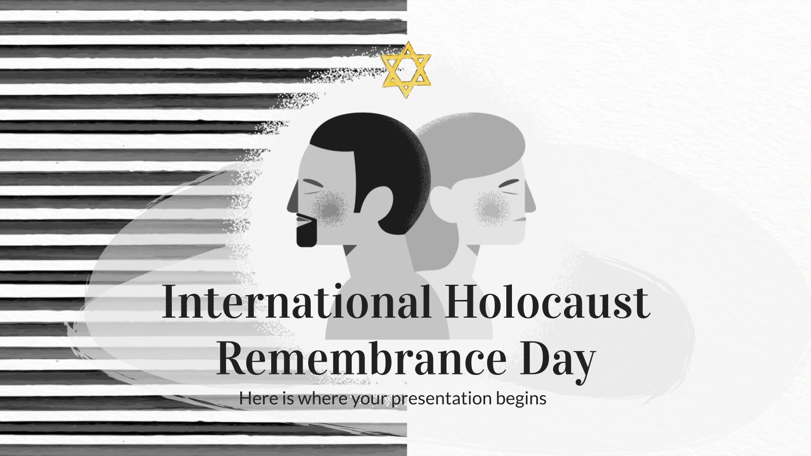 International Holocaust Remembrance Day presentation template