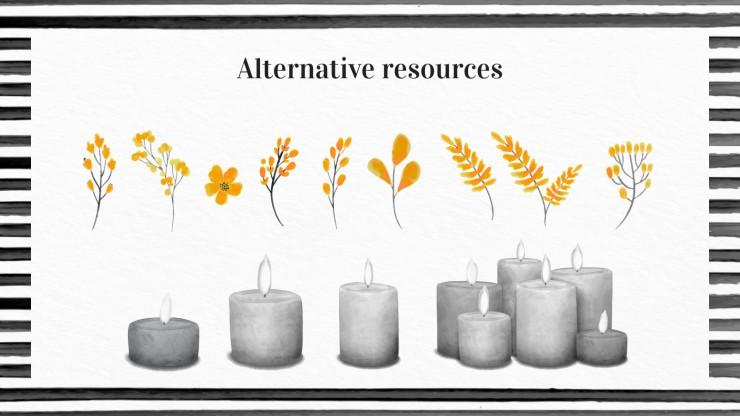 Plantilla de presentación Día en Memoria de las Víctimas del Holocausto