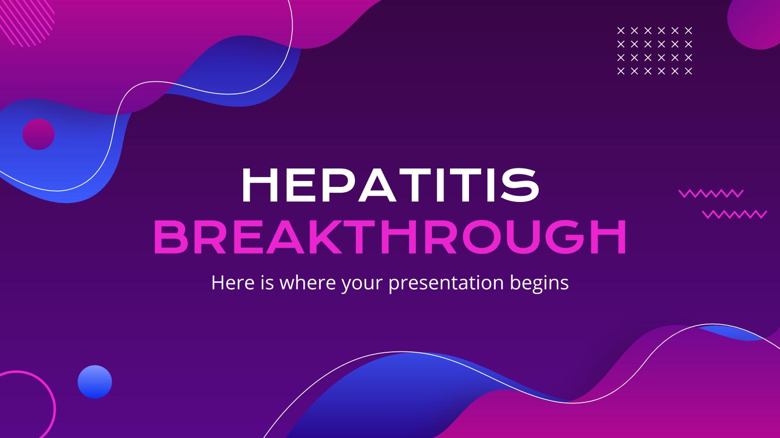 Modelo de apresentação Pesquisa sobre hepatite