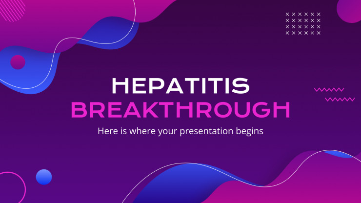 Hepatitis Breakthrough presentation template