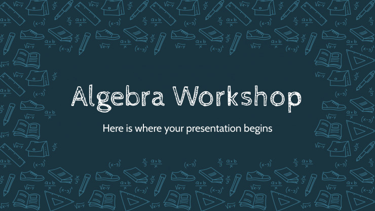 Plantilla de presentación Taller de álgebra