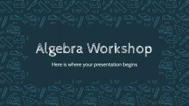Atelier d'algèbre : Modèles de présentation
