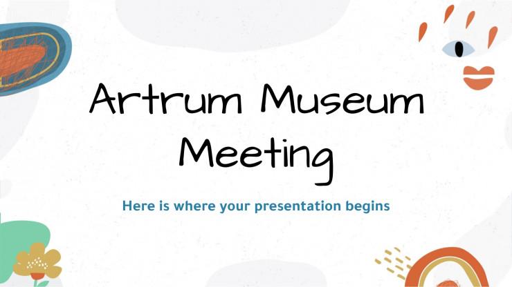 Modelo de apresentação Museu Artrum