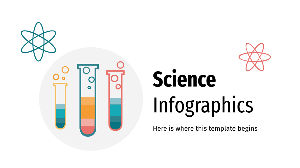 Science Infographics presentation template