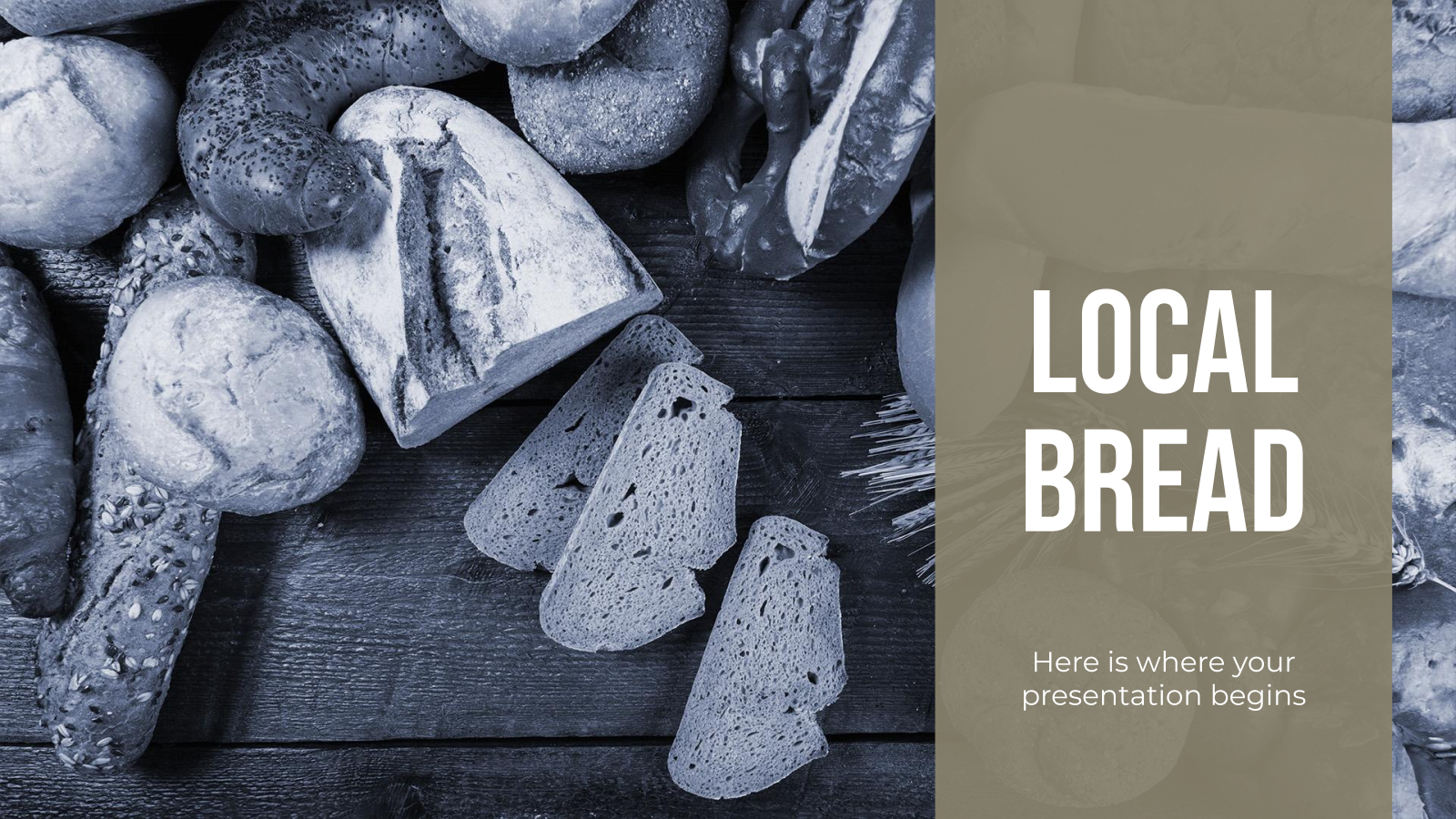 Local Bread presentation template