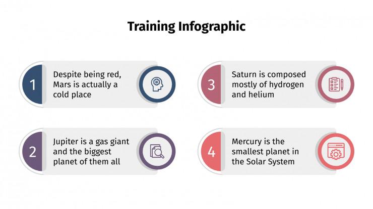 Training Infographics presentation template