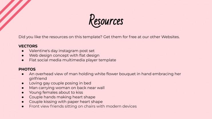 Love Couple presentation template