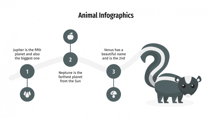 Animal Infographics presentation template