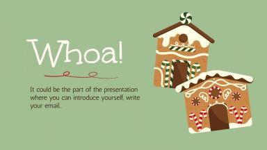Modelo de apresentação Receita de Natal