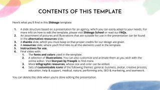 PR Agency presentation template