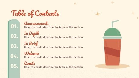 Retric Newsletter presentation template