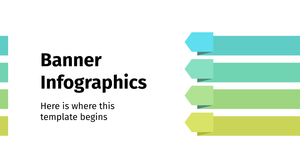 Banner Infographics presentation template