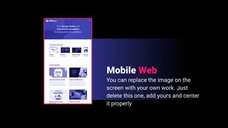 Modelo de apresentação Somos digitais