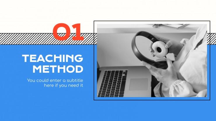 Plantilla de presentación Guías académicas de universidad online