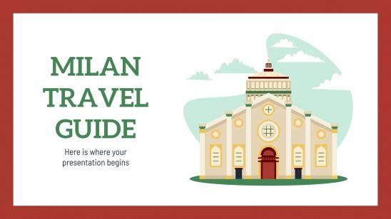 Guide de voyage : Milan : Modèles de présentation