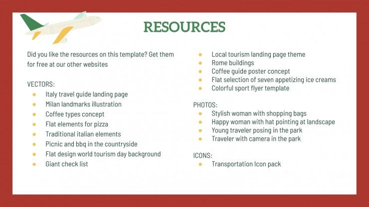 Travel Guide: Milan presentation template