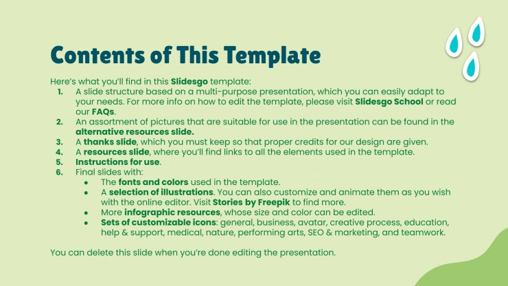 Climate Change presentation template