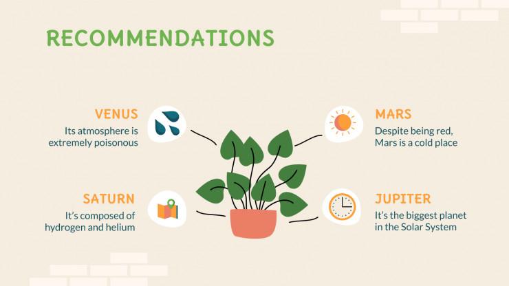 Interior Garden DIY presentation template