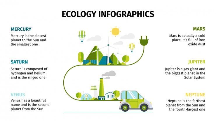 Ecology Infographics presentation template