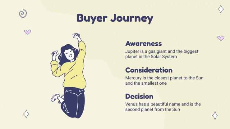 Kawaii Marketing Plan presentation template
