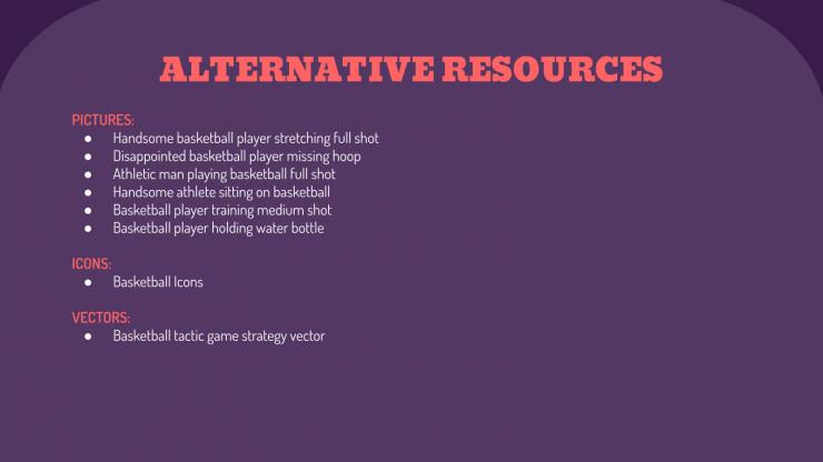 Modelo de apresentação Aula de basquete