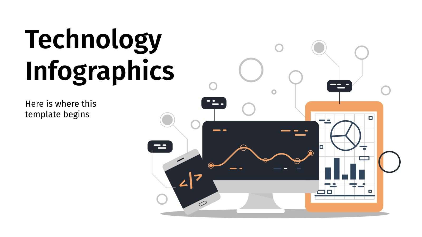 Technology Infographics presentation template