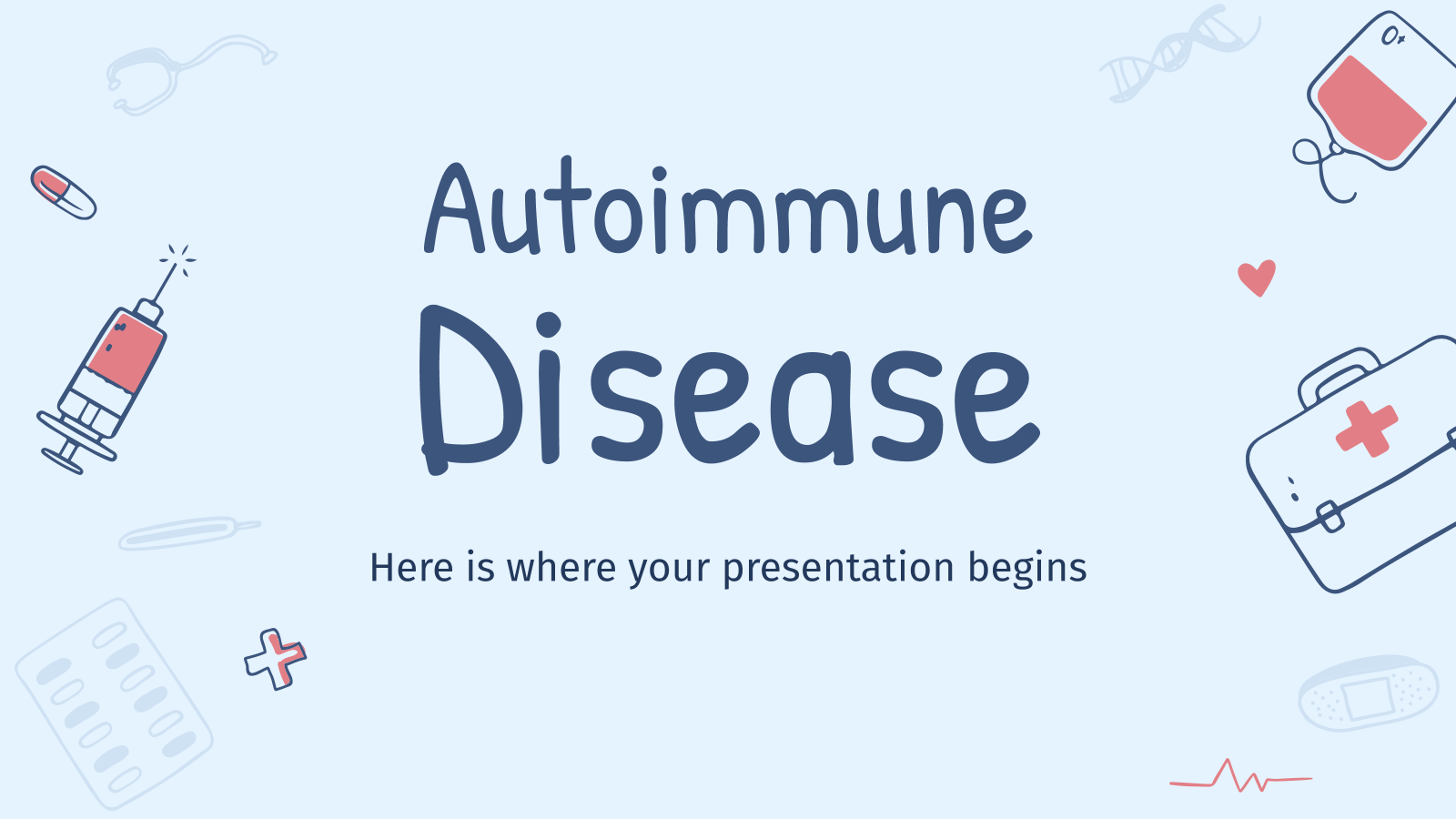 Autoimmune Disease presentation template