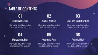 Plantilla de presentación Plan de negocios para e-commerce