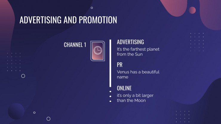 E-Commerce Business Plan presentation template