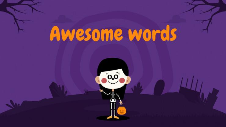 Décorations d'Halloween pour la petite enfance : Modèles de présentation