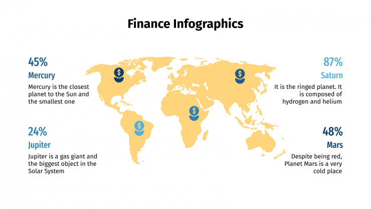 Finance Infographics presentation template