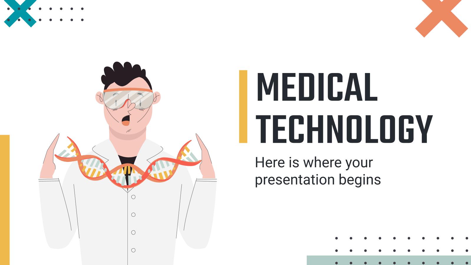 Modelo de apresentação Tecnologia médica