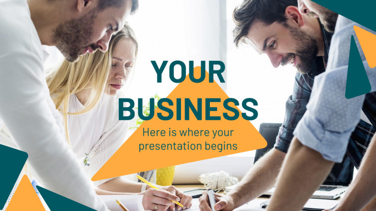 Plantilla de presentación Tu propio negocio
