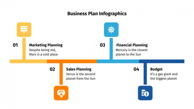 Business Plan Infographics presentation template
