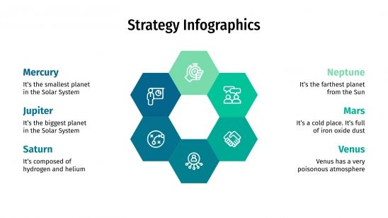 Strategy Infographics presentation template