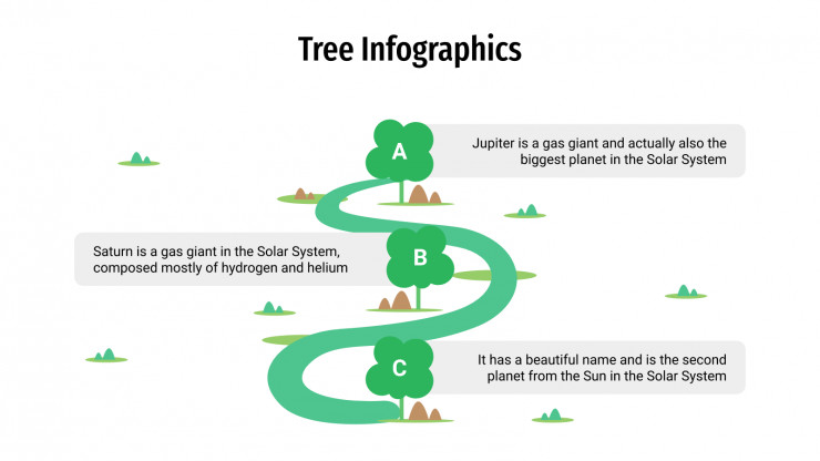 Tree Infographics presentation template