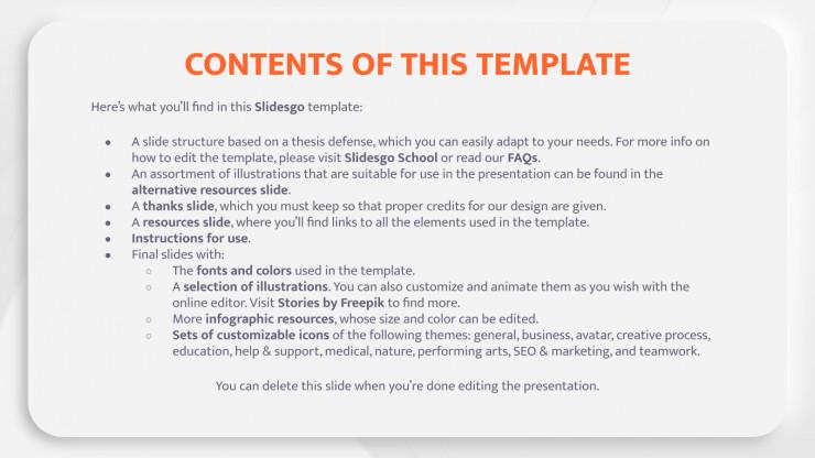 Thèse volumes de papier : Modèles de présentation
