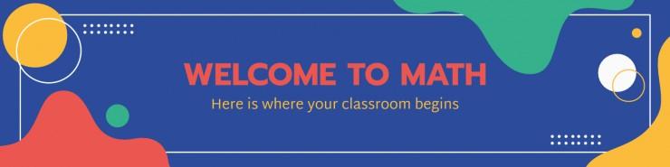 Modelo de apresentação Cabeçalho de aula para faculdade
