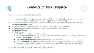 Stratégie en 6 étapes : Modèles de présentation