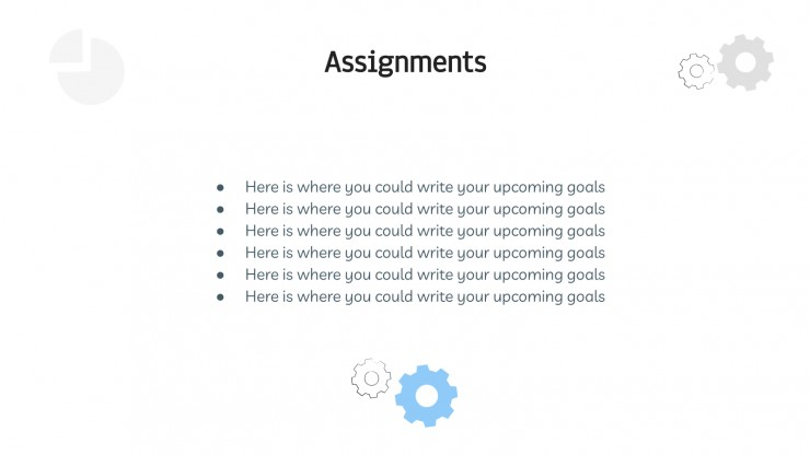 Plantilla de presentación Estrategia en 6 pasos