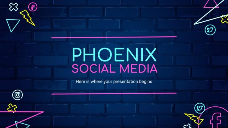 Phonix social Media presentation template