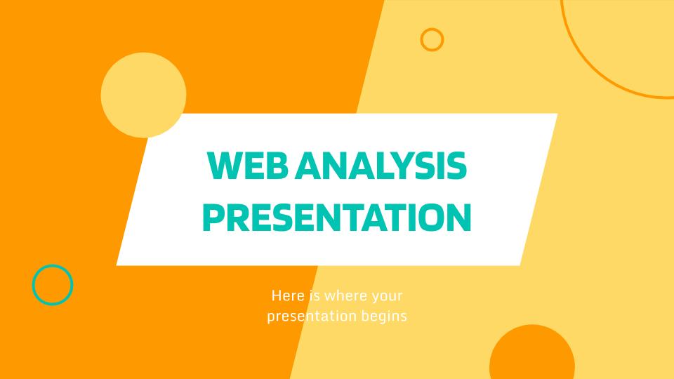 Analyse du Web : Modèles de présentation