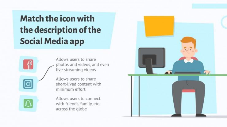 Conseils scolaires sur les réseaux sociaux : Modèles de présentation